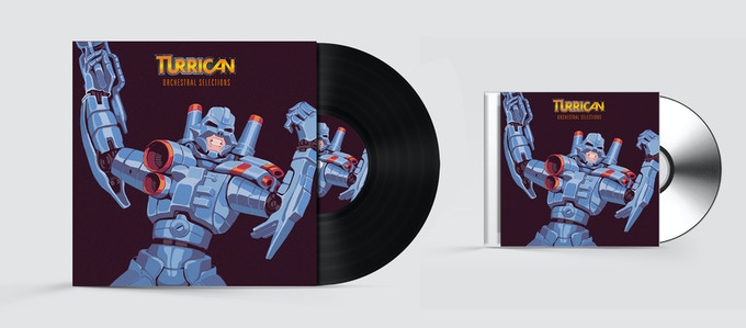 Mockups for the CD and Double Vinyl