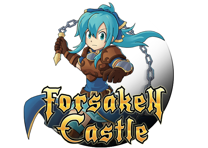 Forsaken Castle is a 16-bit style, action exploration platformer, about a paladin and her fight against evil.