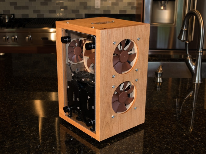 A Complete, Hardwood, ITX Timber Case