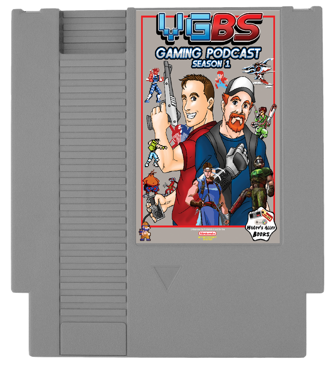 Mock-up of the NES Cartridge (You vote on the cartridge color!)