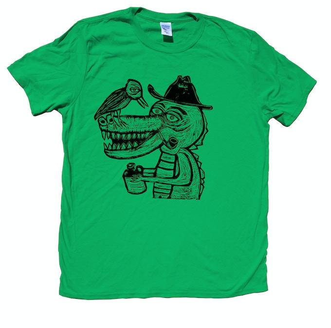 Woodblock Printed T-Shirt