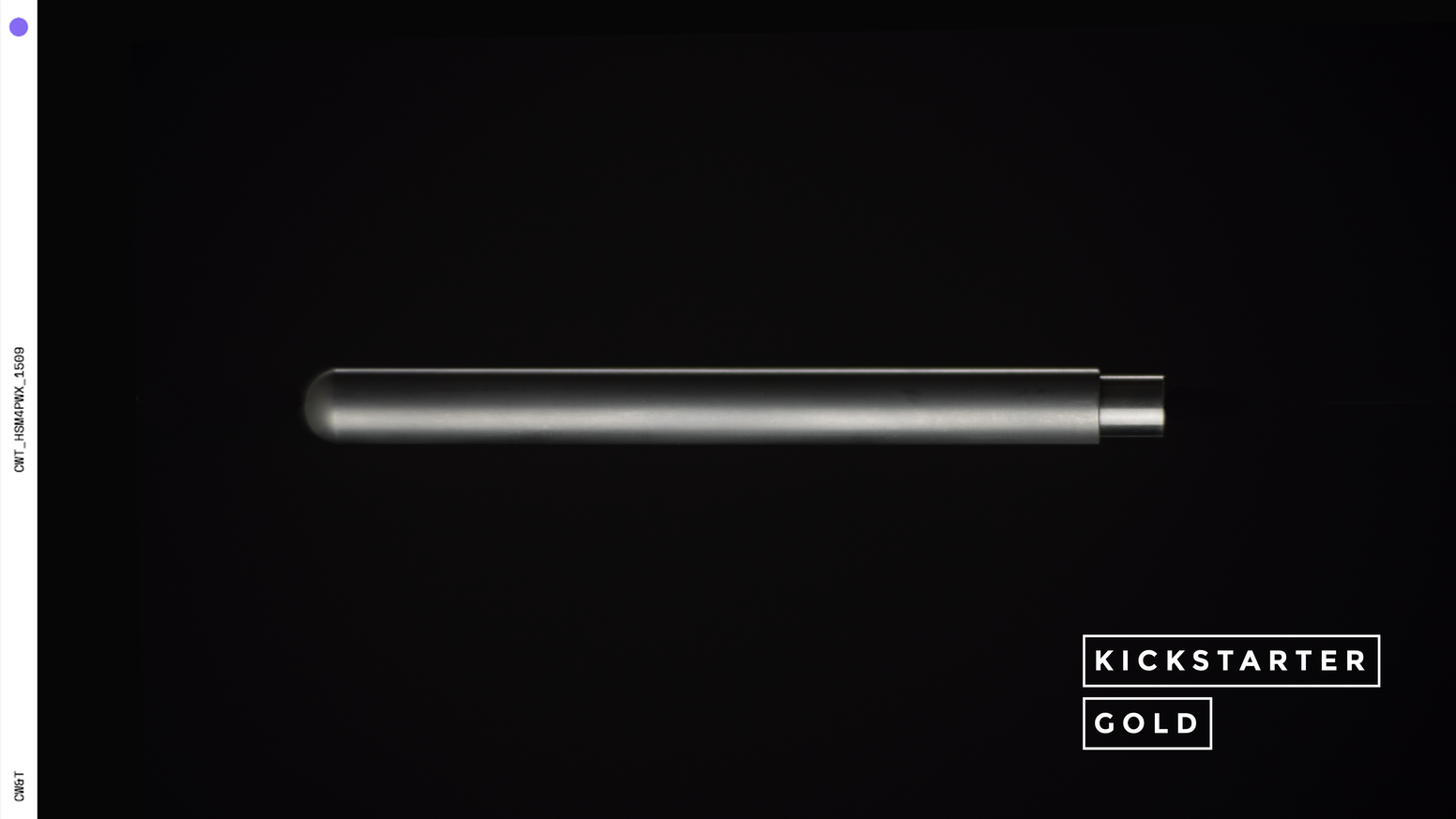 An over-engineered Titanium pen and sleeve. Designed and built to last generations.