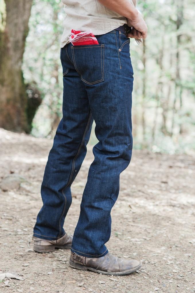 Blackcountry denim co slim fit denim jeans