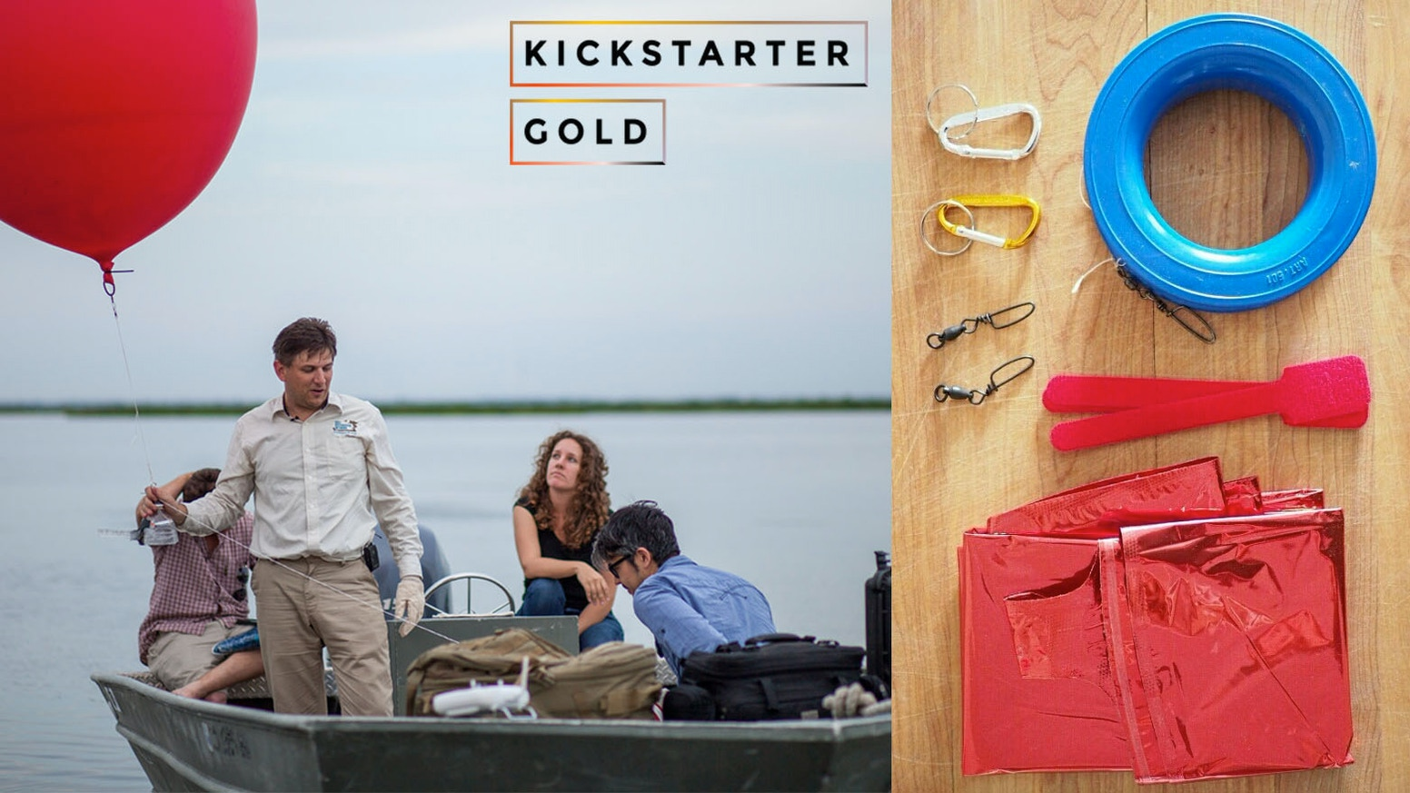 Kickstarter gold balloon mapping kits by public lab kickstarter a simple diy kit to take aerial photographs of things that are important to you gumiabroncs Choice Image