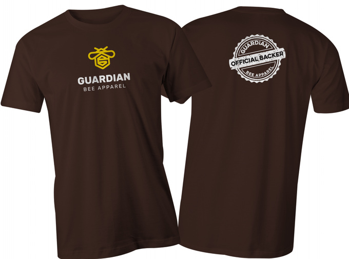 Official Backer T-shirt (dark chocolate)