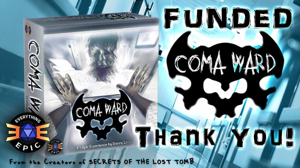 Coma Ward: The Horror Board Game project video thumbnail