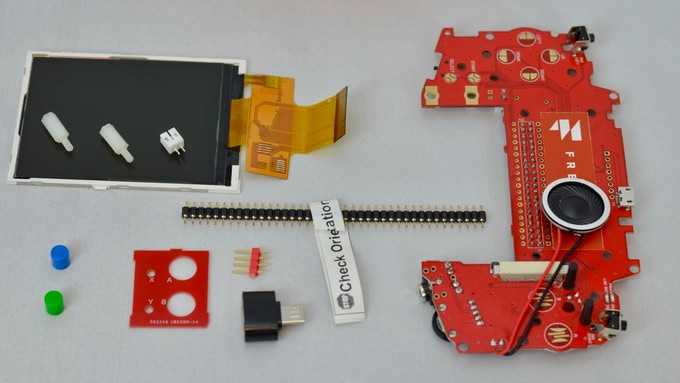 Freeplay Zero DIY Kit example (actual kit components may differ)