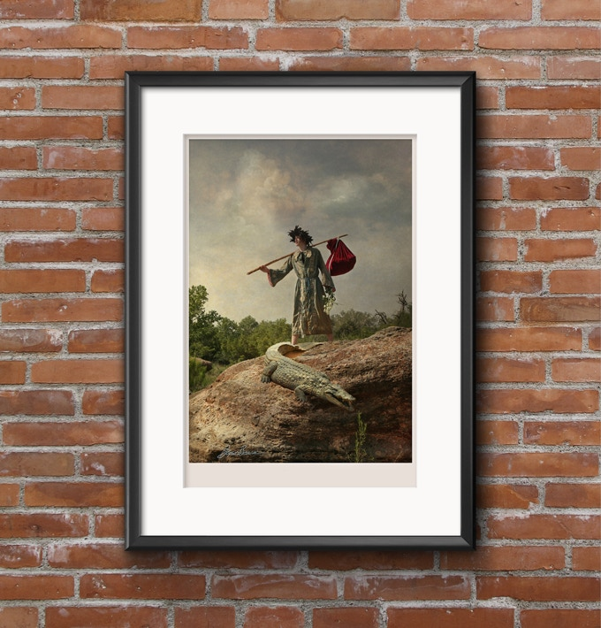 """The Fool, fine art photograph, 13"""" x 19"""", signed by the artist, printed on museum quality metallic pearl paper (frame NOT included)."""