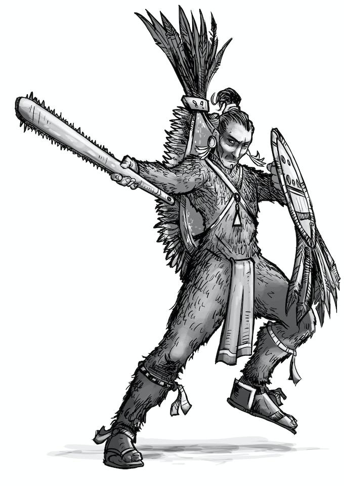 Otomi Warrior