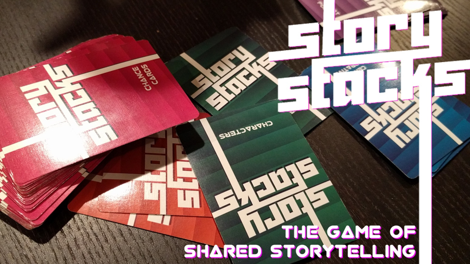 Story Stacks is a one night, card based RPG that puts the storytelling at the center of the action. Never play the same legend twice!
