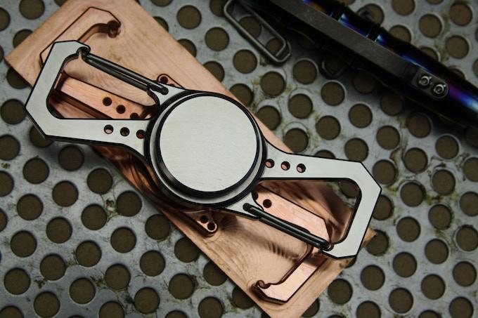 AXIOS - in Machined Titanium