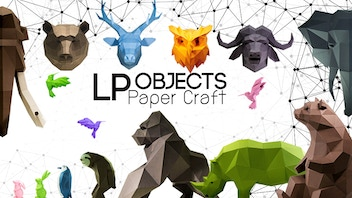 DIY Papercraft Art for your home by LPObjects