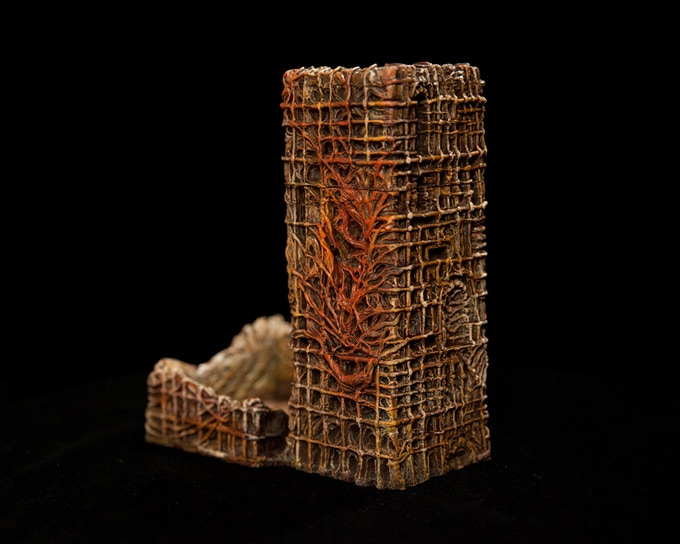 Surreal Dice Tower Back
