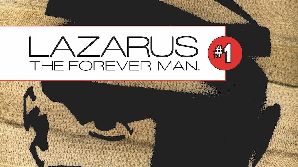 Lazarus, the Forever Man #1 project video thumbnail