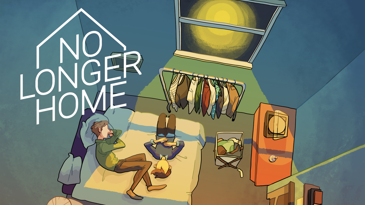 No Longer Home is a magical realist point and click game series, following the personal experiences of two university graduates.