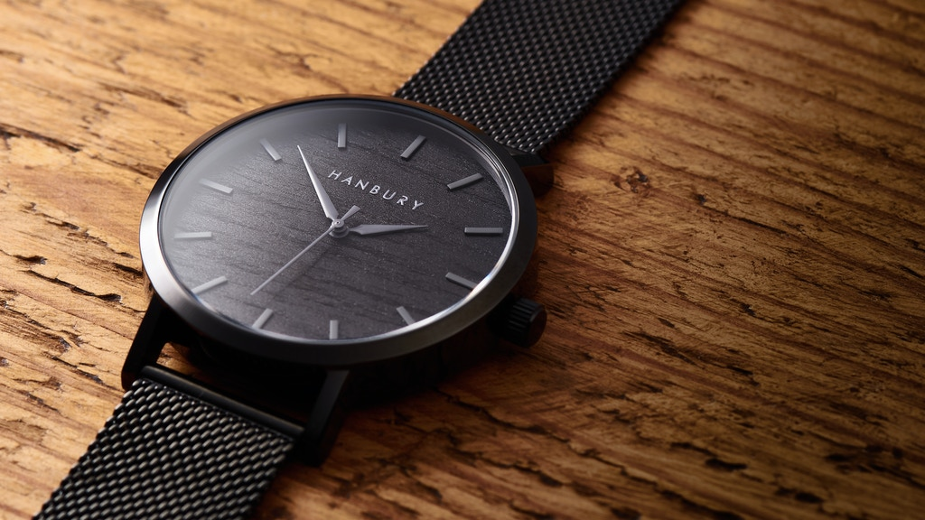 Hanbury - Naturally Different Wood & Stainless Steel Watches