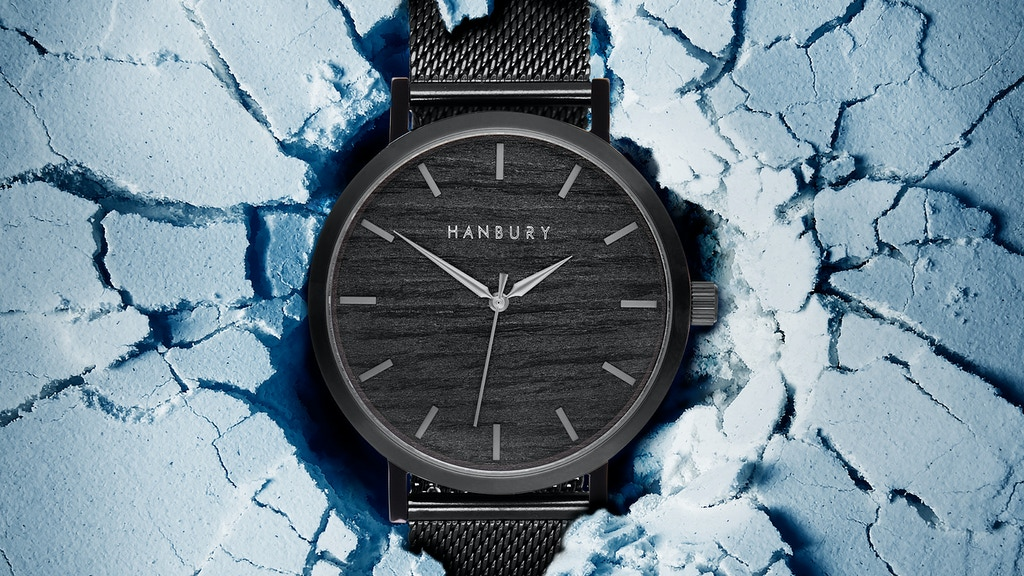 Hanbury - Naturally Different Wood & Stainless Steel Watches project video thumbnail
