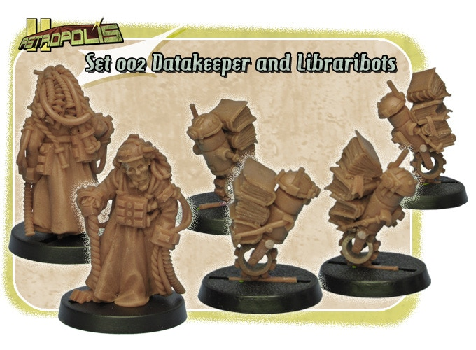 Set 002 - Datakeeper and Libraribots