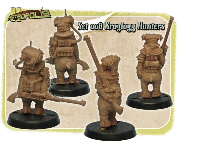 Set 008 - Kroglogg Hunters