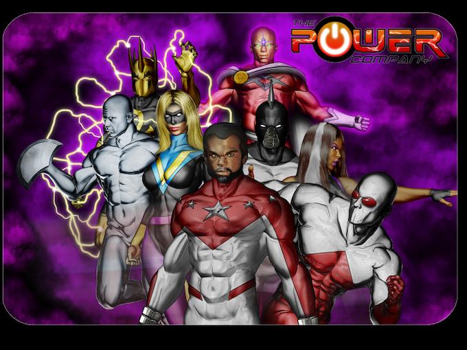 The Power Company! POWER ON! Metalmorph, Forecast, Victory, Five Star, Killer Wail, Professor Bizarre, Spirit's Destiny, and Crimson Streak