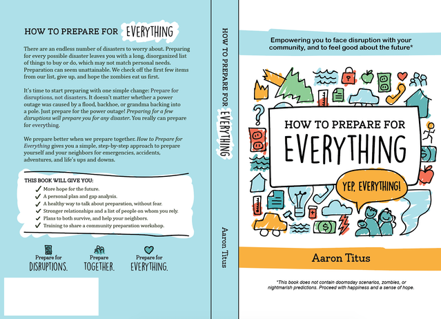 how to prepare for everything by aaron titus kickstarter