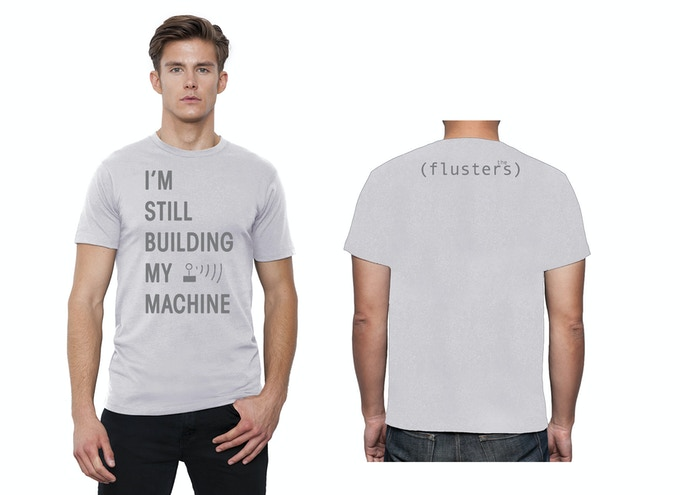 Kickstarter-Exclusive 'Machine' Tee - super soft, unisex, available in all adult sizes