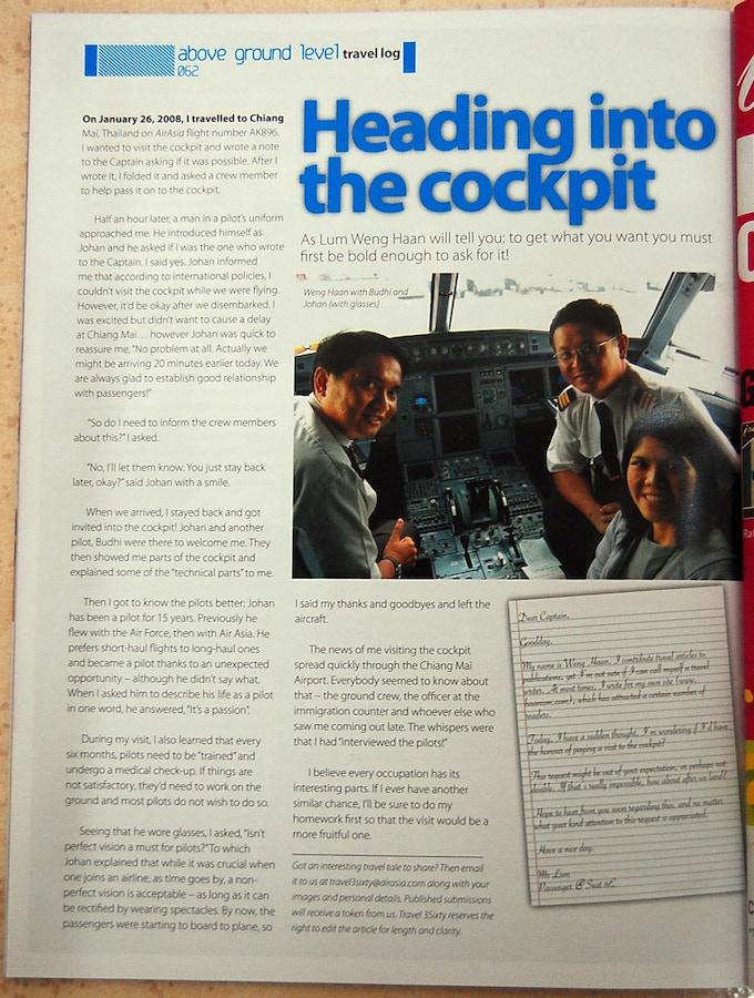 Air Asia Inflight Magazine 亚航杂志, Travel3Sixty (2008年4月)