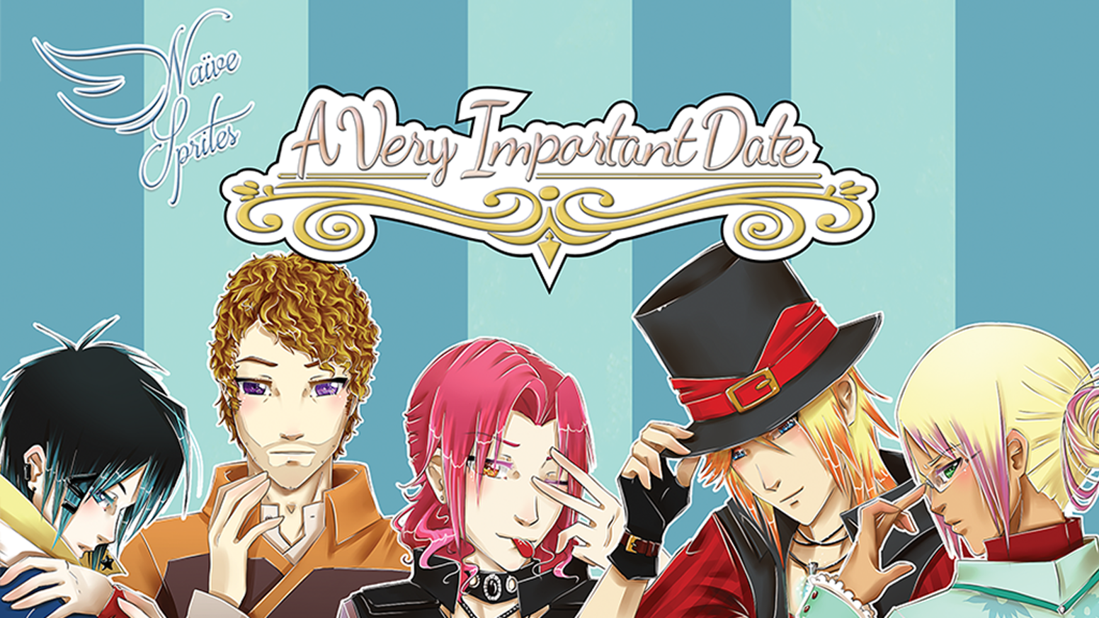 665313de8d823 A Very Important Date + Spin-Off BL - Otome Visual Novels by Noelle ...