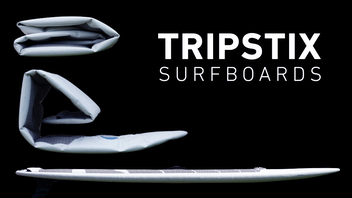 Tripstix - The Worlds First High Performance Inflatable SUP