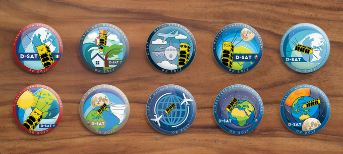 A better look at our pretty pins :)