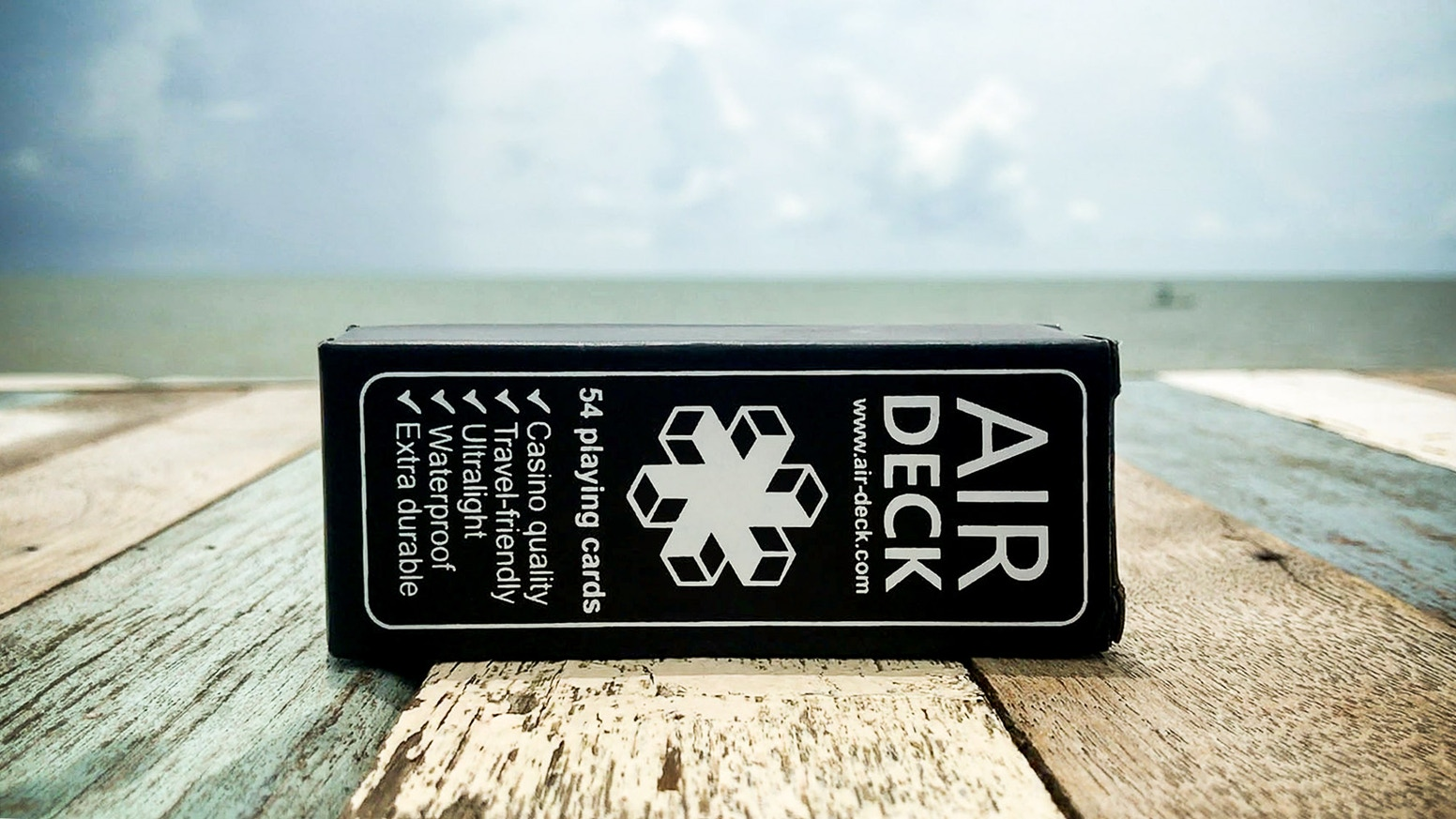 The world's first truly travel optimized playing cards. Premium, waterproof, compact, lightweight, and durable.