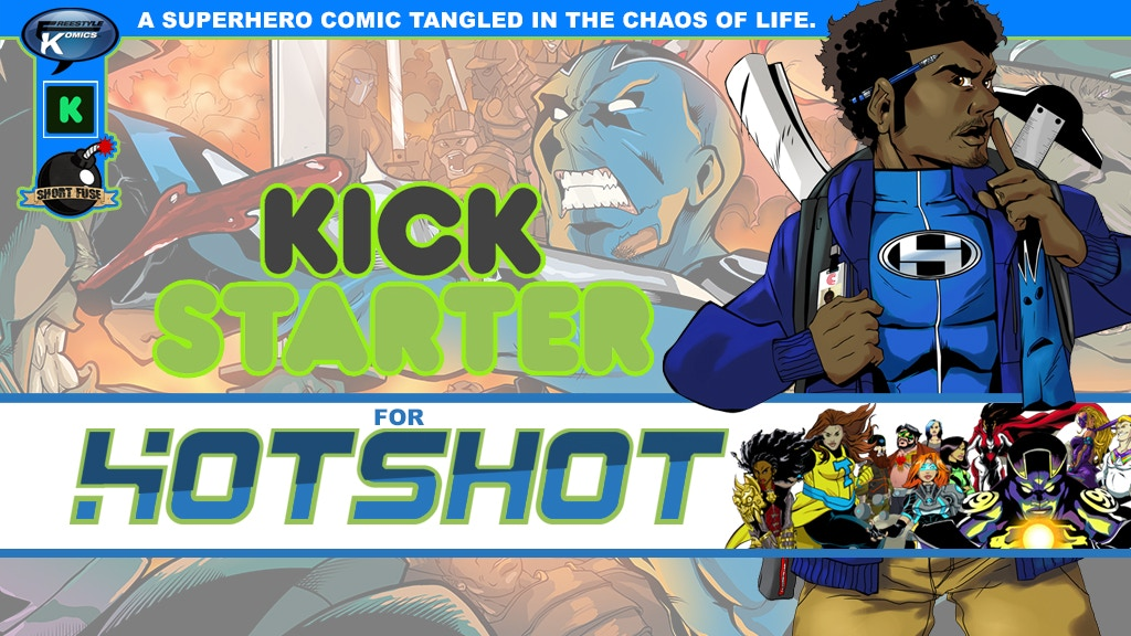 Hotshot Comic Book Series Relaunch!!! project video thumbnail