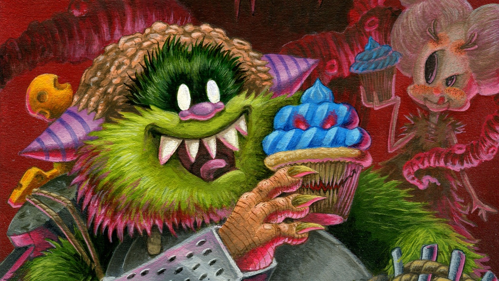 Fuzzbuquet: A Silly and Spooky All-ages Fantasy Epic project video thumbnail
