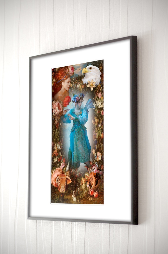 """The World, fine art photograph, 13"""" x 19"""", signed by the artist, printed on museum quality metallic pearl paper (frame NOT included)."""