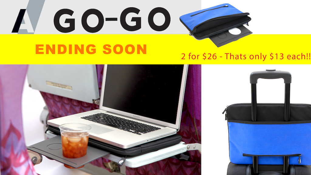 A/Go-Go : The Ultimate Computer Sleeve & Beverage Tray project video thumbnail