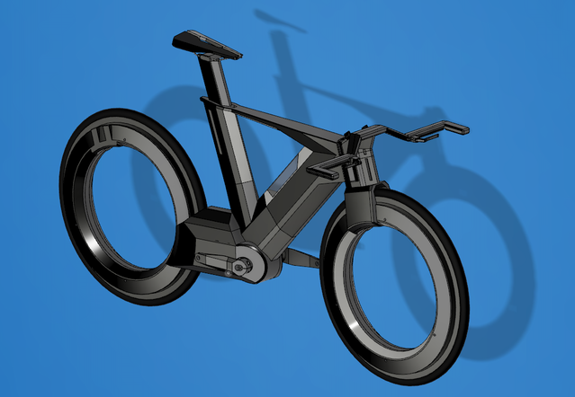 e08f505f8 THE CYCLOTRON BIKE - Revolutionary Spokeless Smart Cycle by ...