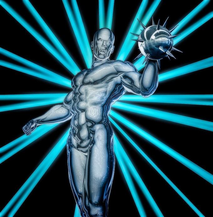 Metalmorph tee-shirt image by John Jones