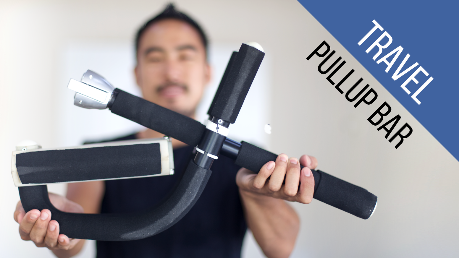 Toss out that bulky pullup bar! Introducing Flexr, a lightweight yet sturdy pullup bar that's easy to store and perfect for travelers.