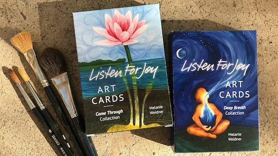 Listen For Joy Art Card Decks