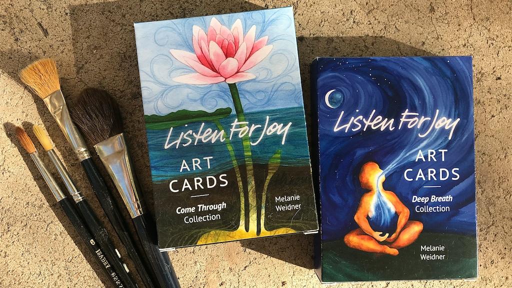 Listen For Joy Art Card Decks project video thumbnail