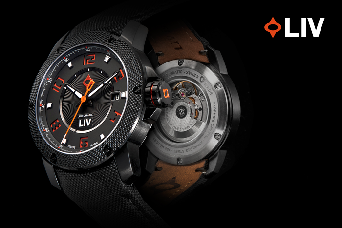 A Swiss Made Automatic Watch with Double Sapphire.  Inspired by passion and built by hand.  Delivered to you at an accessible price.