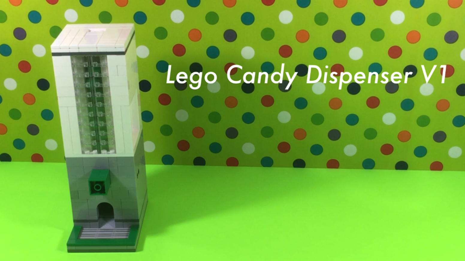 Lego Candy Dispenser V1 By Gaurav Dutta Kickstarter