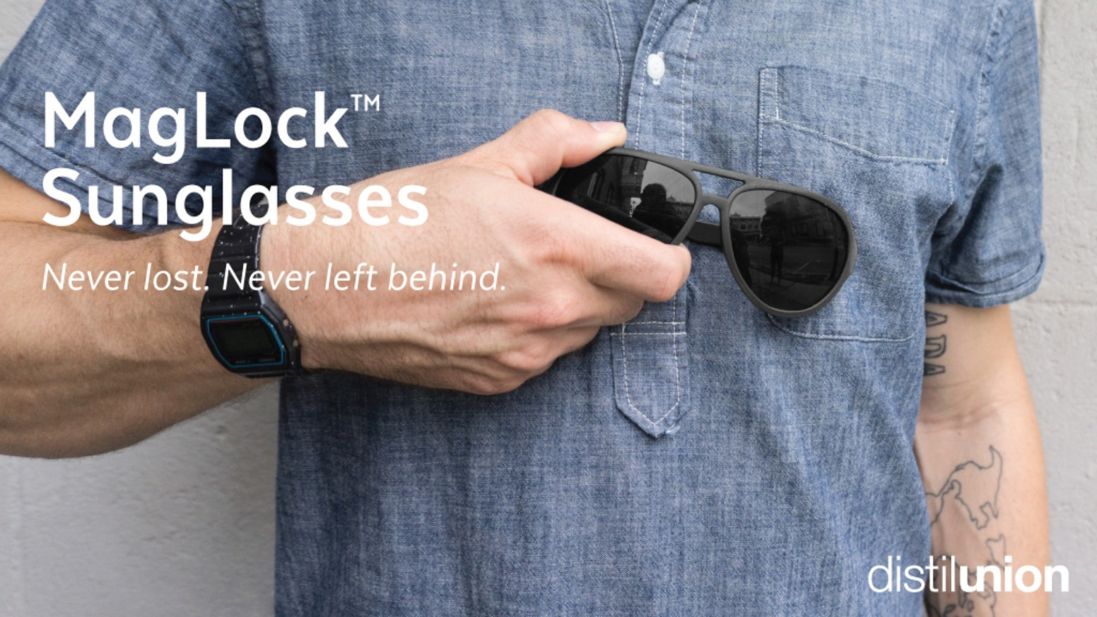 387e33115f40 Polarized MagLock™ Sunglasses use the power of magnets to simply eliminate