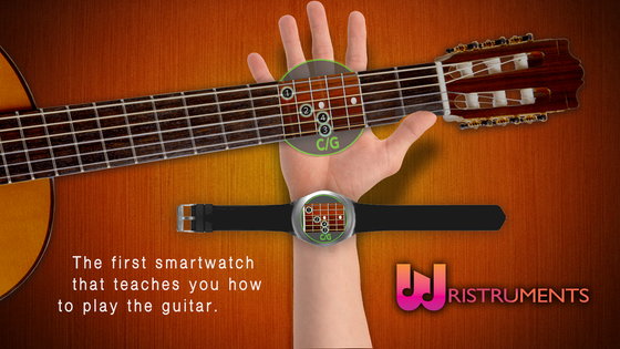 Wristruments - Learn to Play the Guitar from your Smartwatch