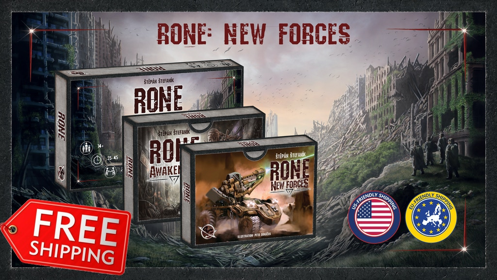 RONE (2nd Edition) + RONE: New Forces expansion (Relaunch) project video thumbnail