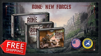 RONE (2nd Edition) + RONE: New Forces expansion (Relaunch)