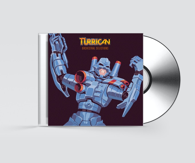 The new Turrican Orchestra CD (mockup)