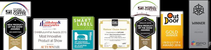 [8 International awards Cafflano® products won]