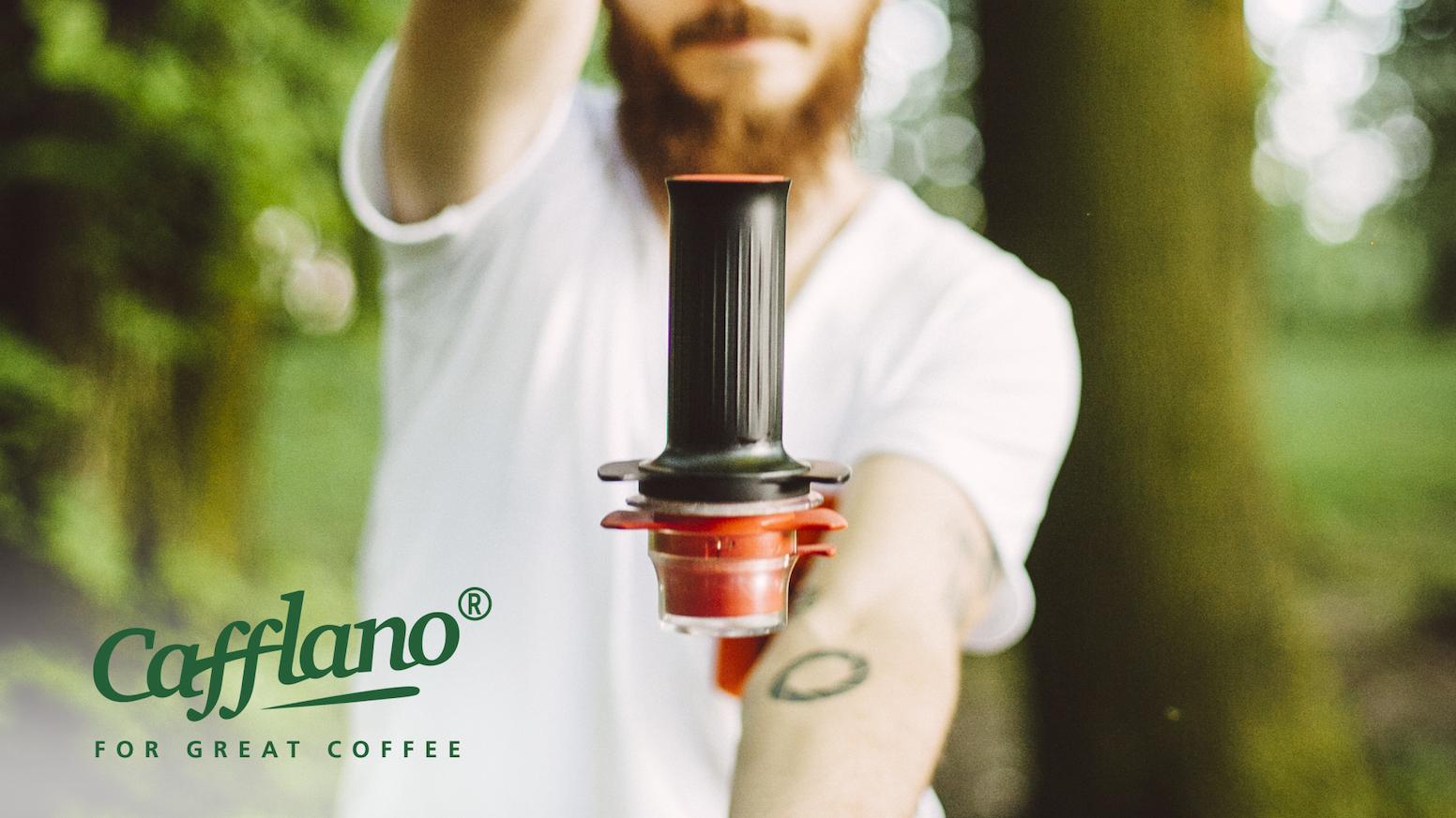 Cafflano® Kompresso, a Portable Authentic Espresso Maker