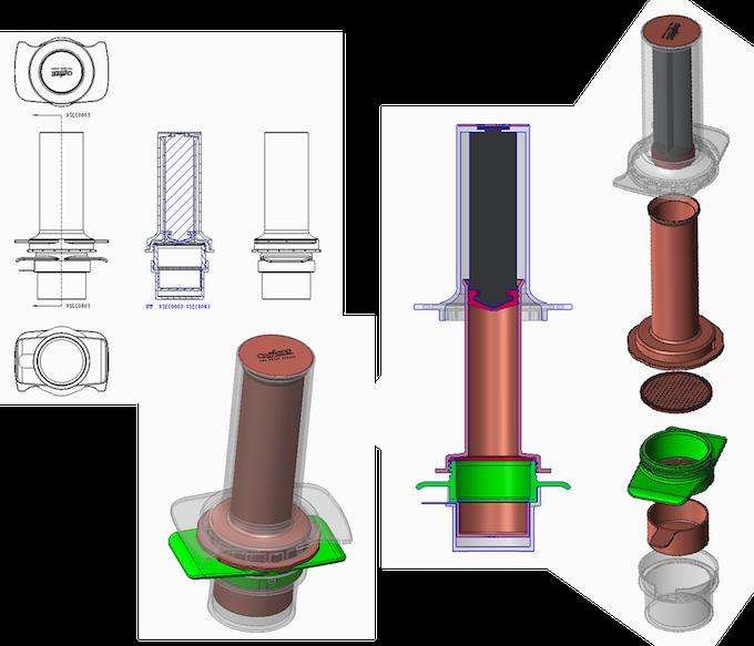 Original Cafflano® Kompresso designs